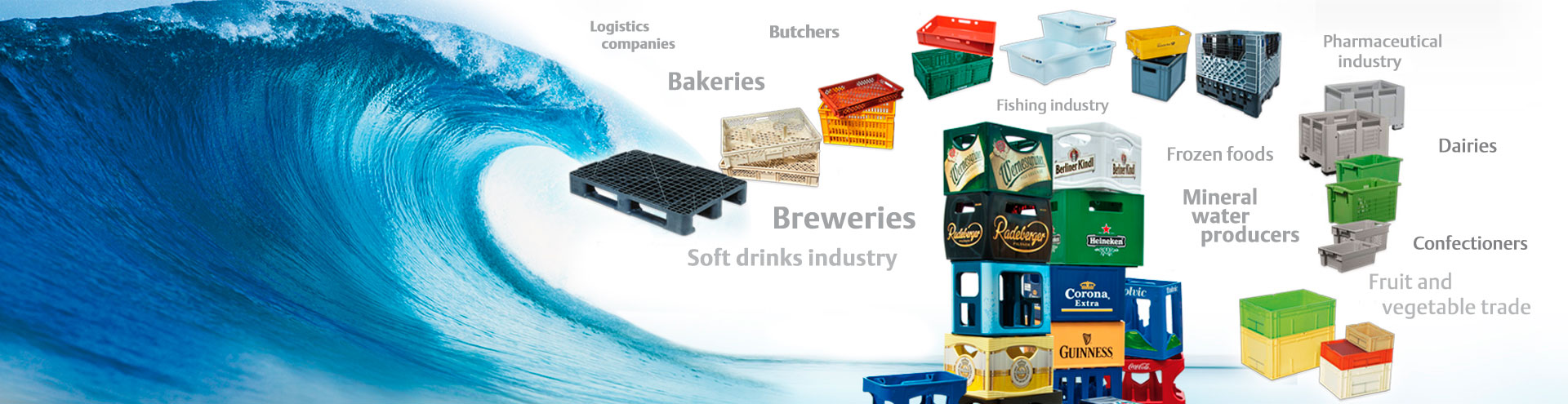 BOHRER crate washers provide cost efficient cleanliness and hygiene for drinks crates, food cases, logistics containers and pallets