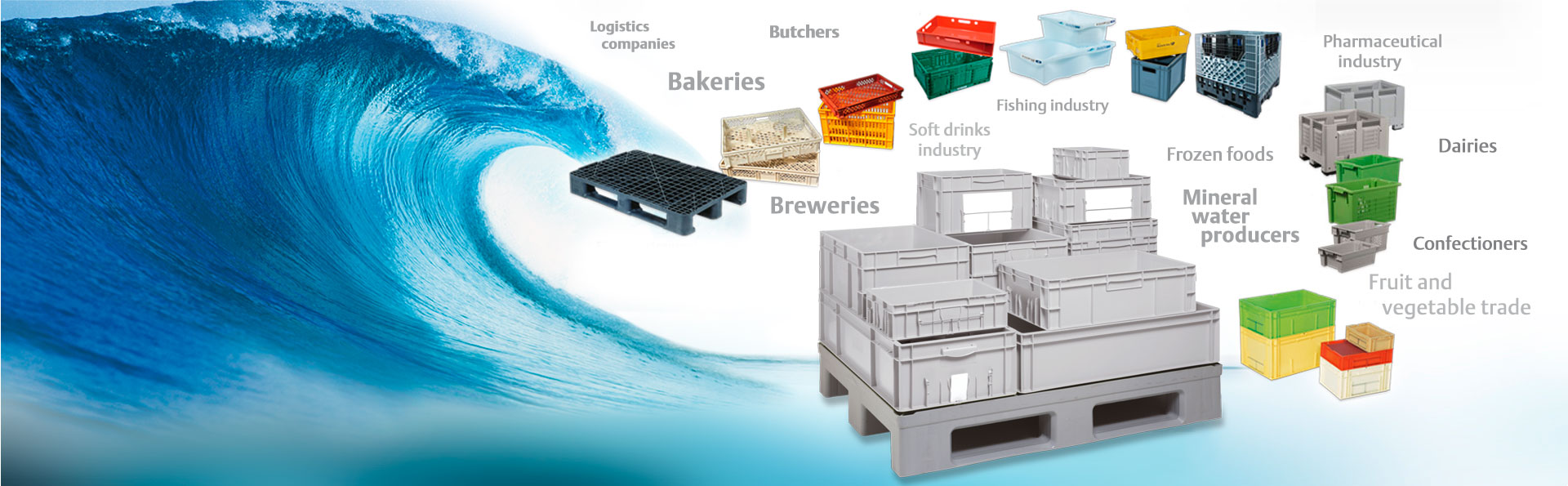 Innovative, cost-efficient crate washing for the beverage and food industry