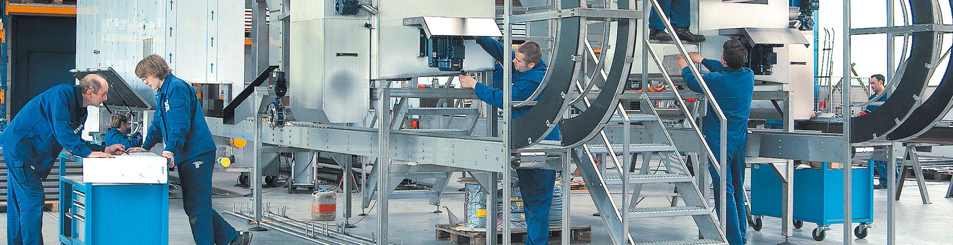 Working at BOHRER Maschinenbau in Regenstauf, Bavaria